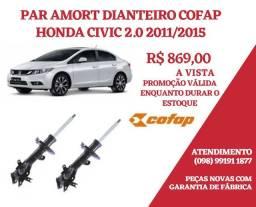 PAR AMORT DIANT HONDA CIVIC 2.0 2011/2015