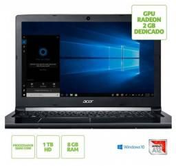 Acer A515-41G-13U1 gamer Placa de video dedicada