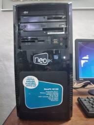 CPU Positivo NeoPC N140 usado Win7 sem monitor