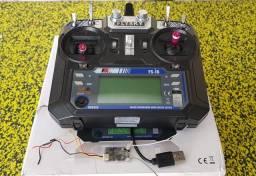 Radio controle Flysky FS-i6 com receptor fly 14