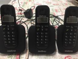Telefones sem fio 50,00 cada vendo separado