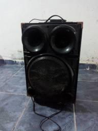Caixa de som ( amplificador) com defeito