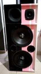 Linda caixa de som