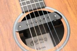 Captador Lr Baggs e pedais violão e guitarra