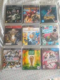Combo 12 Jogos Ps3 Mid Fisica a sua escolha de Ps3 Playstation 3