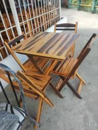 Conjuntos de mesas dobrável