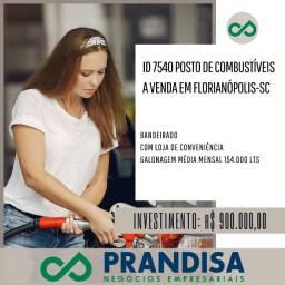 7540 Posto de combustíveis a venda em Florianópolis - Sc