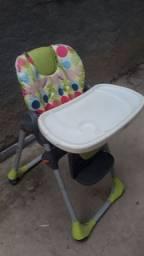Cadeira de alimentação reclinável