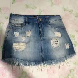 Saia Jeans Love Etc