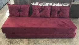 Sofá cama Doce sonho( direto da fábrica.)