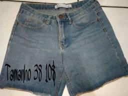 Shorts jens 5,00 apenas