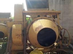 Betoneira 450 litro profissional para grades obras e fabrica de bloco e lajes