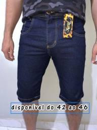 Bermuda jeans masculino número 44