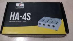 Amplificador de fones Arcano HA-4S