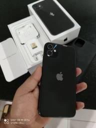 iPhone 11 Black 256GB ANATEL Zero
