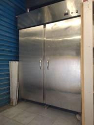 Passtrought aquecido inox 2 portas, estufa industrial para alimentos