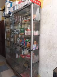 Vitrine armário vidro com porta