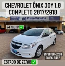 Chevrolet Ônix Joy 1.0 completo 2017/2018