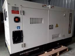 Gerador de Energia Diesel 65kva, Silenciado, Automático - Top de Linha