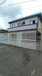 Alugo casa sobreposta 02 dormitórios na Cidade de Praia Grande bairro Tude Bastos s