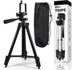 Tripé Universal Telescópico Para Câmeras Digitais E Smartphones