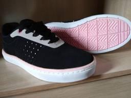 Tênis Feminino Ride Skateboard N°35 Novo na caixa