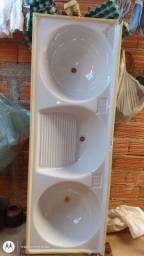 Uma pia de lavanderia