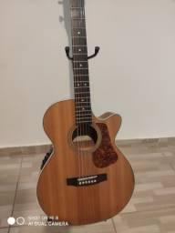 Excelente violão cort L 100 F NS.