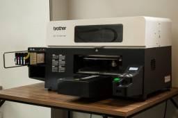 Impressora Têxtil Brother 361 para impressão de camisetas direto no tecido (DTG).
