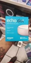 Mega Promoção - Alexa Echo Dot Novo com 6 meses de Garantia + Brindes