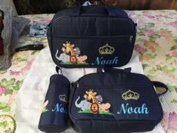 Kit mala maternidade nome Noah
