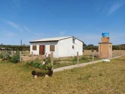 Velleda oferece 7 hectares completo, casa, galpão, açude, campo, ac. troca