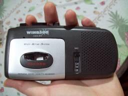 Gravador de Mão com Micro Fitas