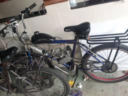 Vendo bicicleta motorizada 80 cilindrada