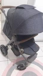 Carrinho de bebê ABC DESING AVITO semi novo