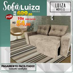 Sofá Retrátil Luiza