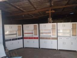 Armários de cozinha de chão novos e de madeira, faço entregas!