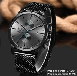 Relógio Masculino Original Lige Funcional Premium ( Atendimento por WhatsApp)
