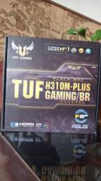 <br>Placa-Mãe 9/8 Geração - Asus TUF Gaming H310M-Plus S/ Aura Sync - LGA 1151,DDR4