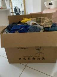 Vendo lote de roupas para bazar novas e semi novas