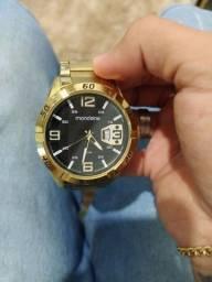 relógio folheado