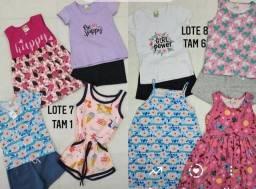 Título do anúncio: Vendo lote de roupas infantis