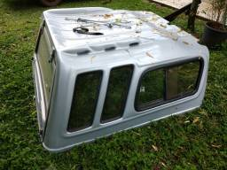 Capota de fibra Fiat Strada cabine estendida ce
