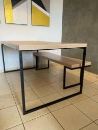 Mesa jantar + Banco Forest Etna