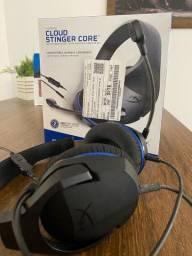 Headset hyper x para PS4