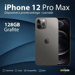 iPhone 12 Pro Max 128GB Grafite Novo-Lacrado