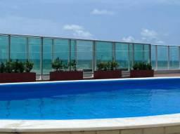 T.F Apartamento 02 dormitórios (01 suíte) em Manaíra com vista para o mar