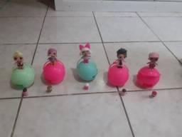 Vendos todas 5 bonecas LOL originais