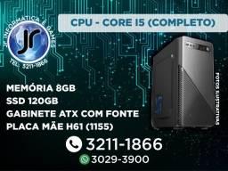 Core I5 - 8GB ssd 120GB -Garantia de 1 Ano