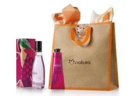 Ekos Moça - Desodorante Colônia Frescor Feminino+Polpa Polpa Hidratante p/mãos - Natura